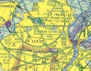 Class B Airspace at St. Louis